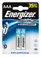 Элементы питания ENERGIZER Maximum Power BOOST E92/AAA FSB2