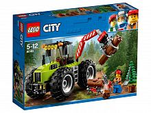 Конструктор LEGO City Great Vehicles Лесной трактор